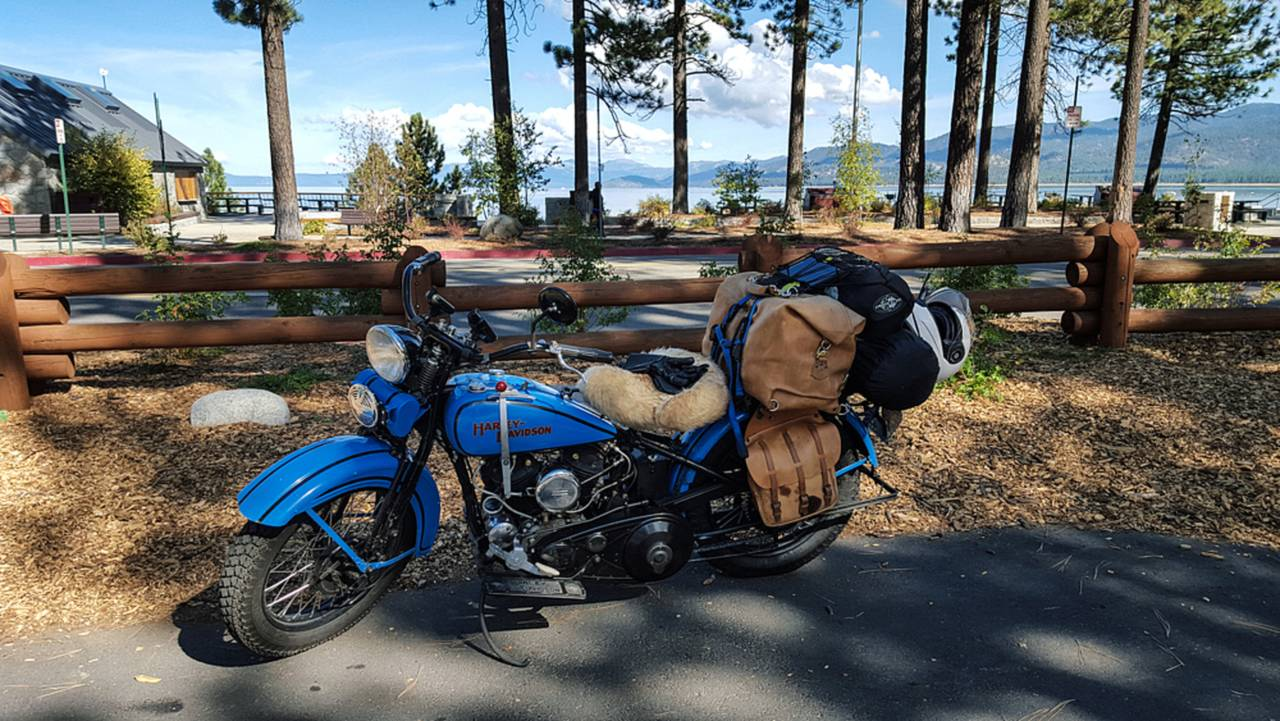 Just over the border in southern Lake Tahoe.