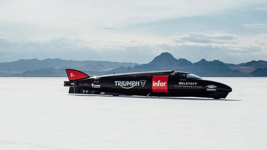Triumph Record Attempt Tripped By Tricky Salt