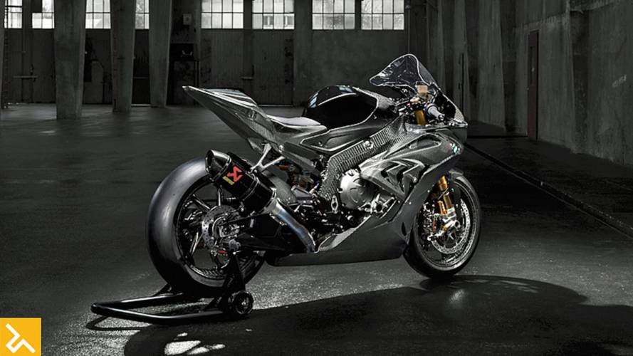 Behold the 2017 BMW HP4 Race