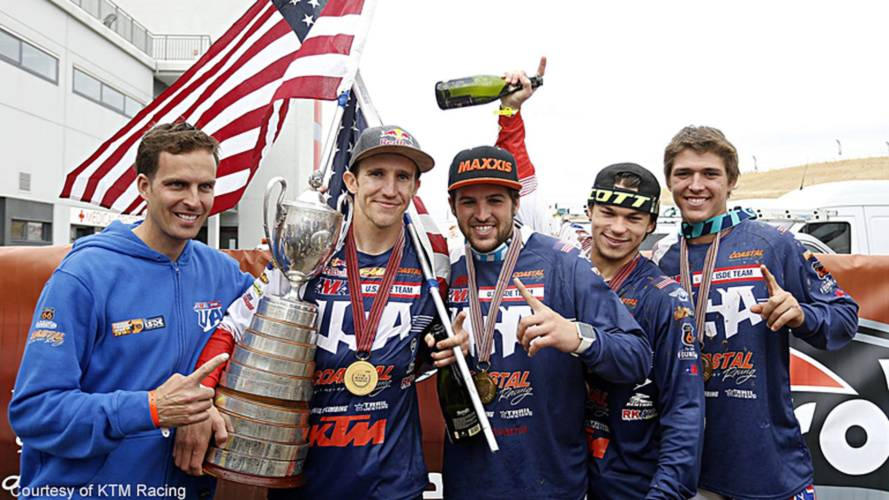 U.S. Trophy Team Wins ISDE