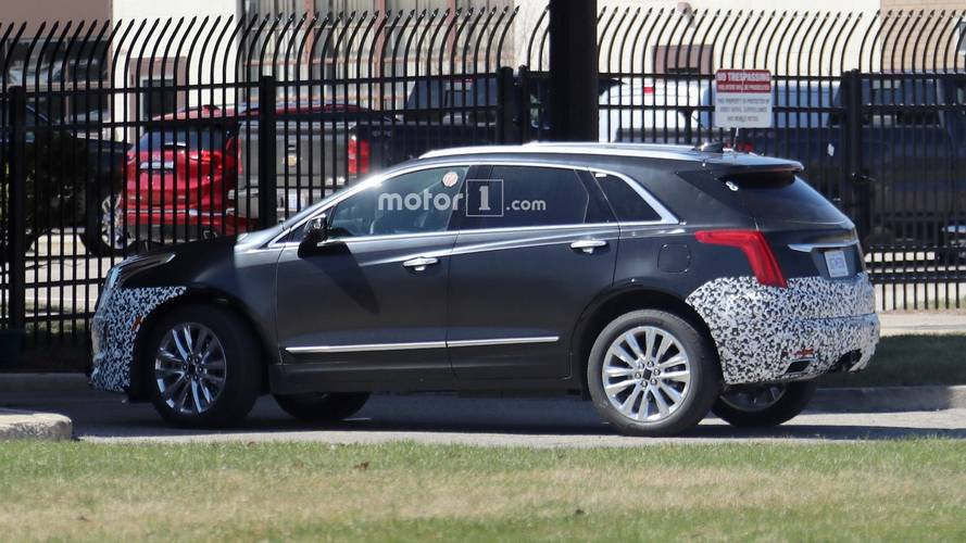 2020 Cadillac XT5 Spy Photos