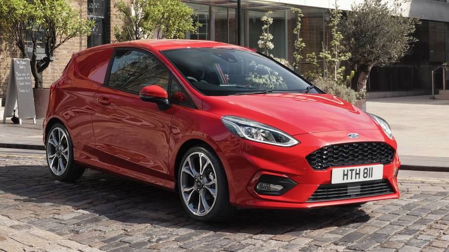 Ford reveals high-tech new Fiesta Van