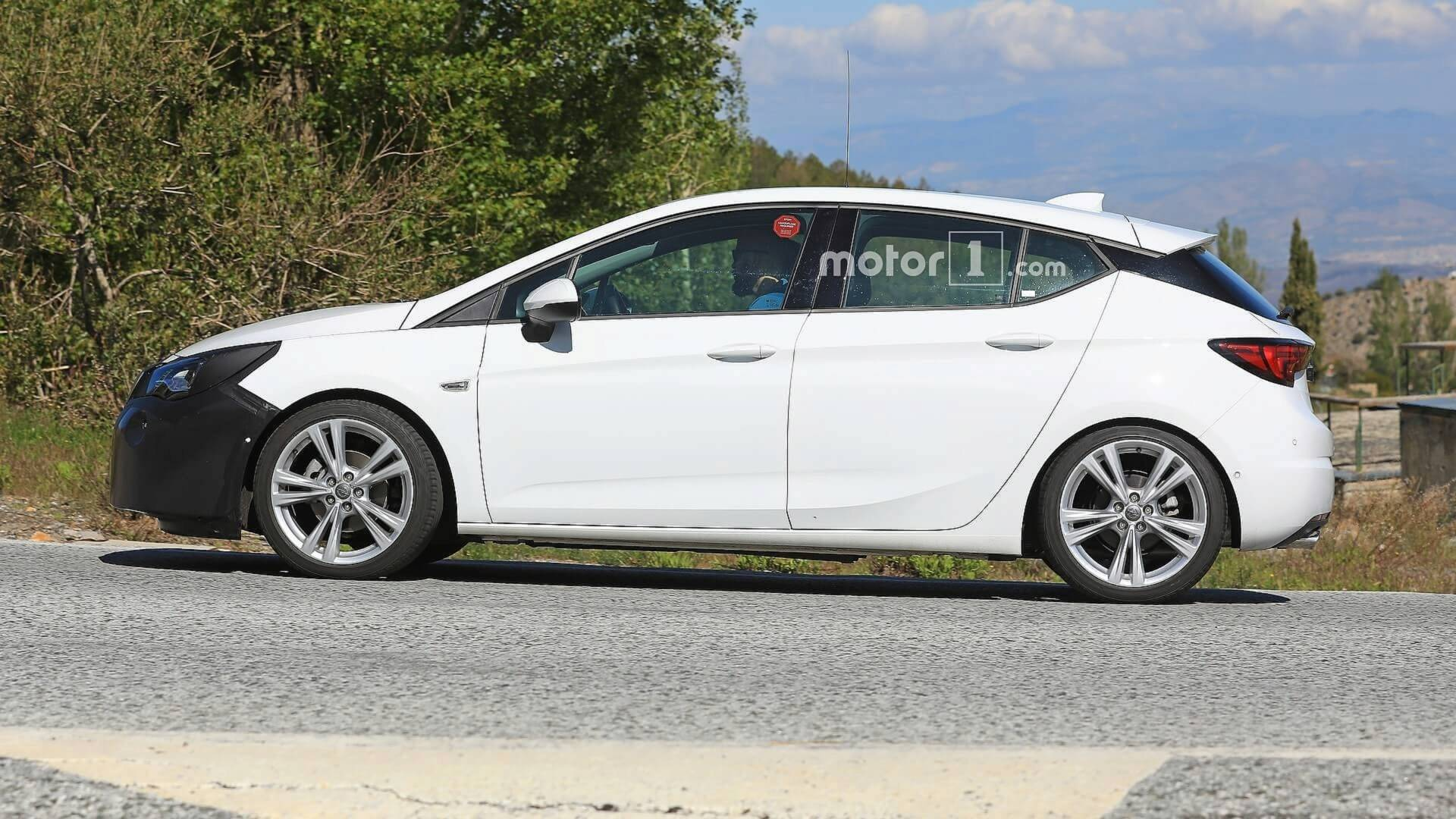 2019 Opel Astra Spotted Masking Modest Facelift