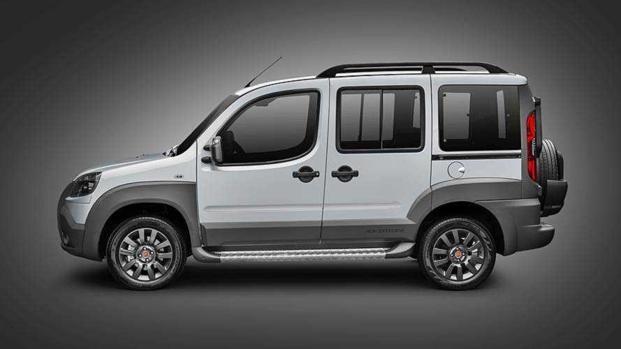 Com aumento de preços, Fiat Doblò chega a custar até R$ 99.698