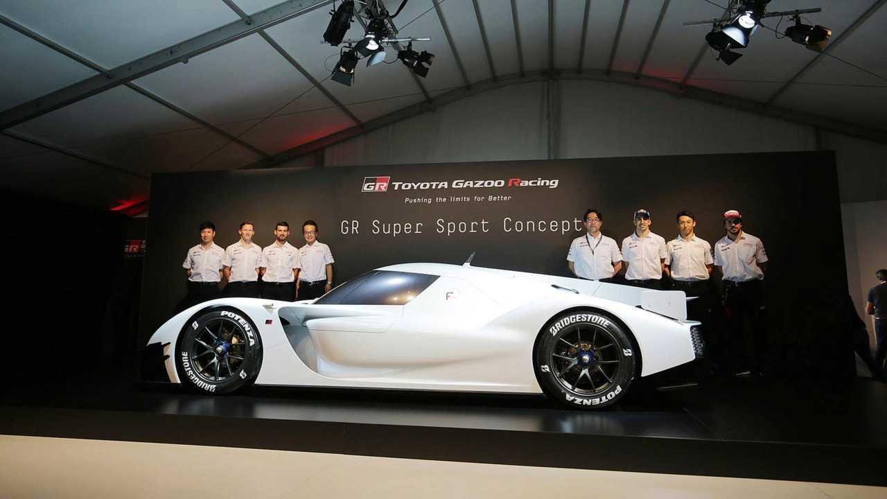 Toyota GR Super Sport Konsepti Canlı Fotoğraflar