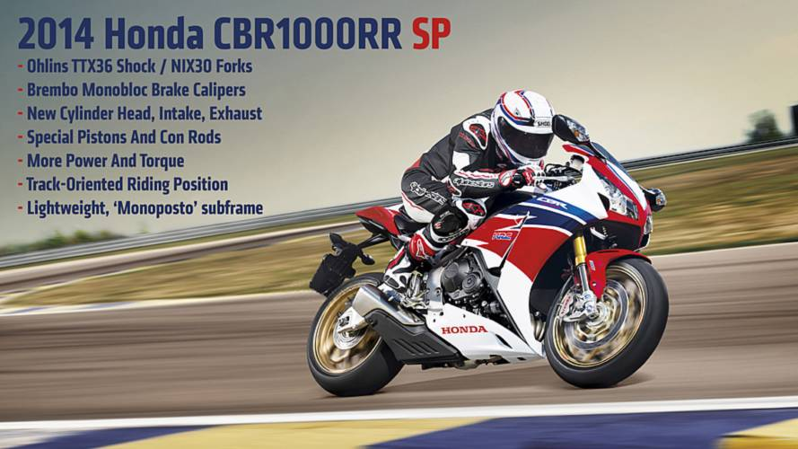 2013 EICMA: 2014 Honda CBR1000RR SP — First Photos and Specs
