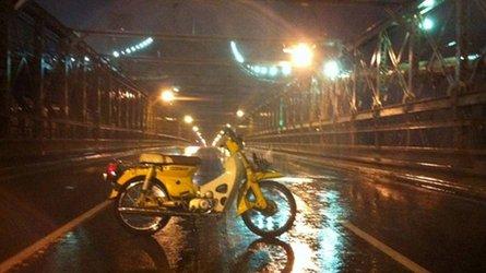 riding through hurricane irene
