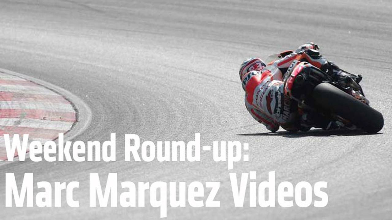 Weekend Round-up: Our Favorite Marc Marquez Videos