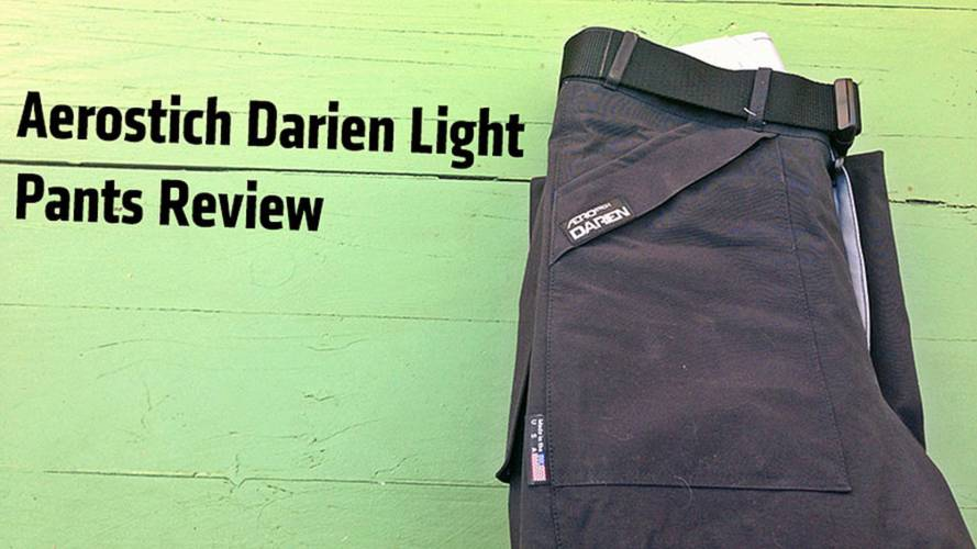 Aerostich Darien Light Pants Review