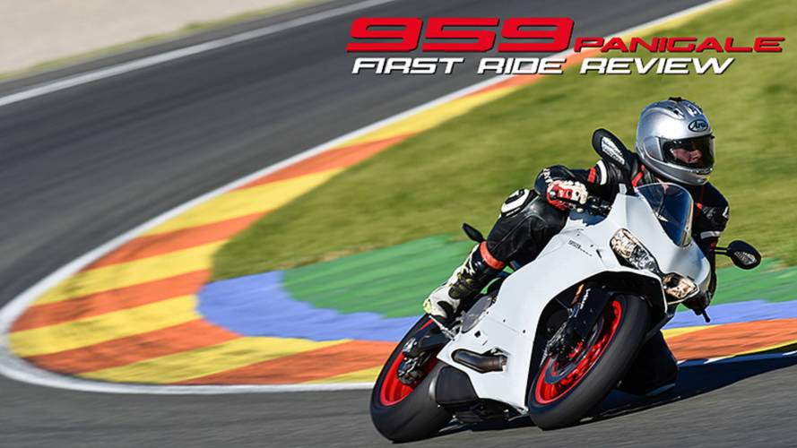2016 Ducati 959 Panigale: First Ride Video Review