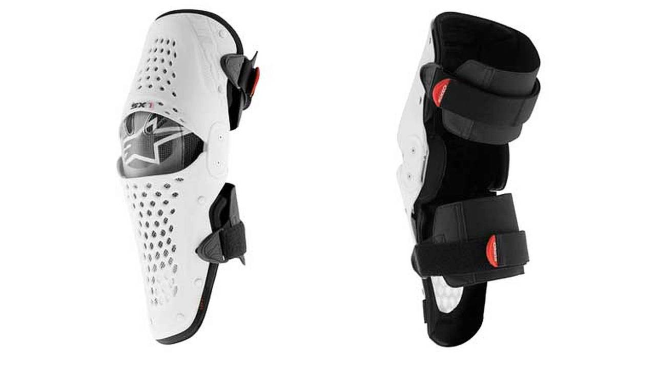 Behold the New Alpinestars SX-1 Knee Guard