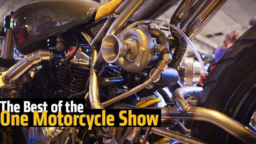 The Best of The One Motorcycle Show Will Leave You in Awe
