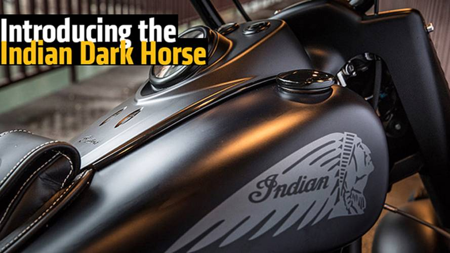 Indian Unveils the Dark Horse