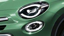 Fiat 500X restyling, il rendering