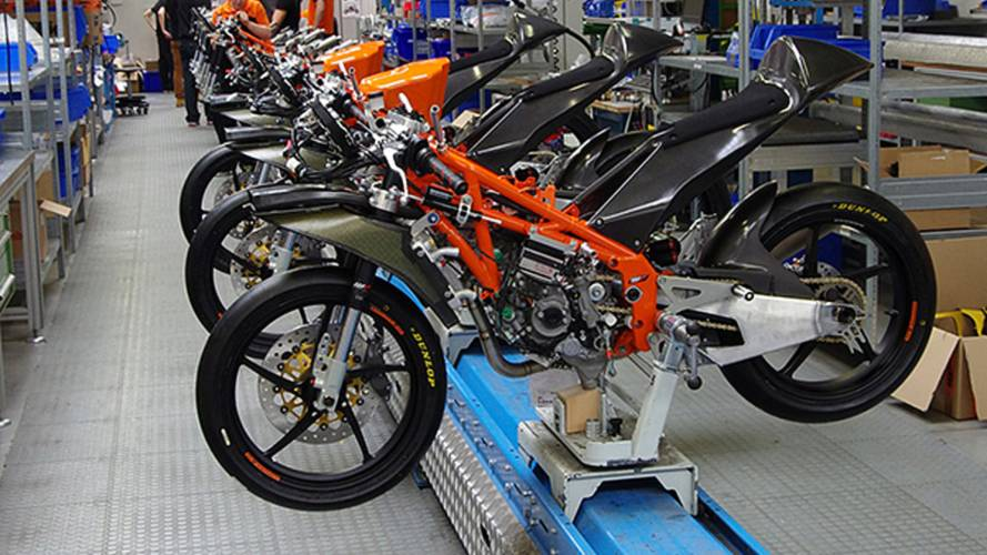 Building the KTM Moto3 production racer