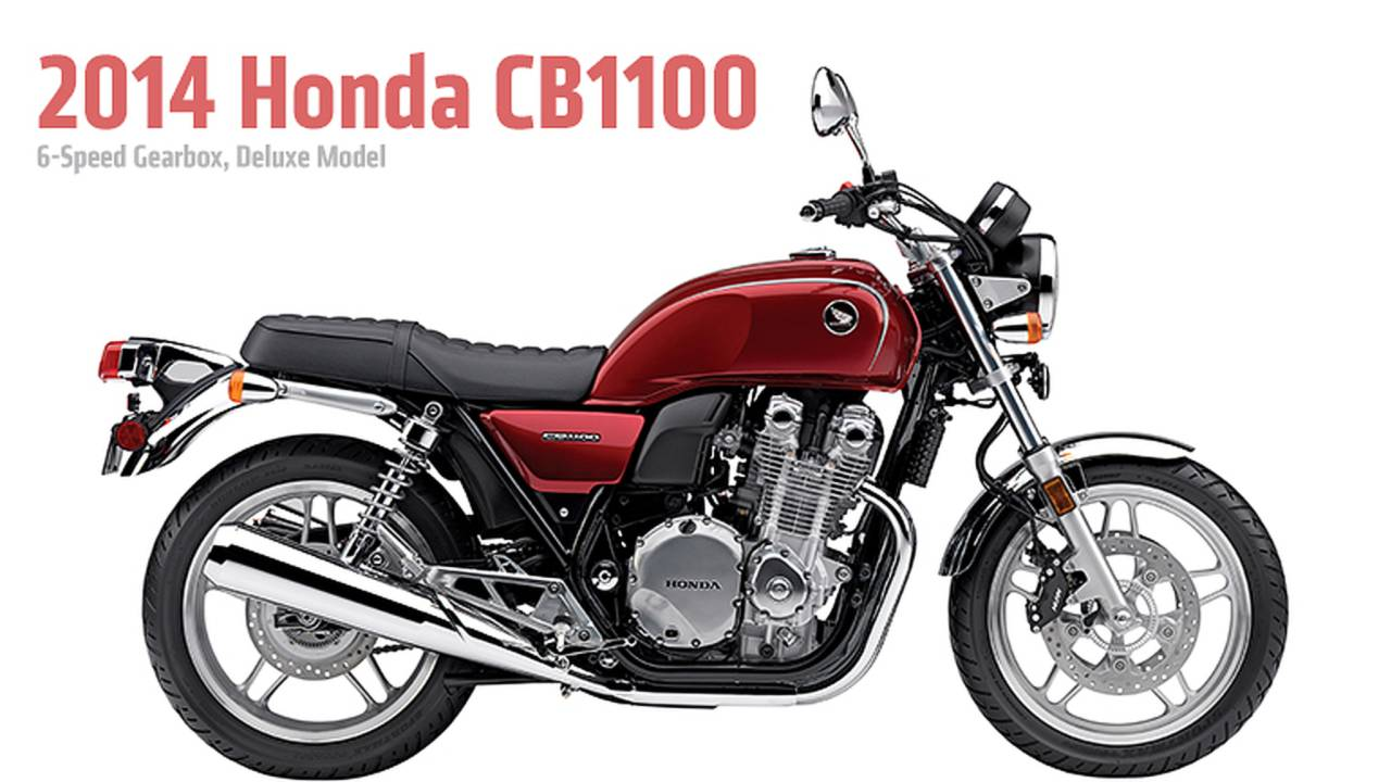 2014 Honda CB1100: Deluxe Model and 6-Speed Gearbox Added