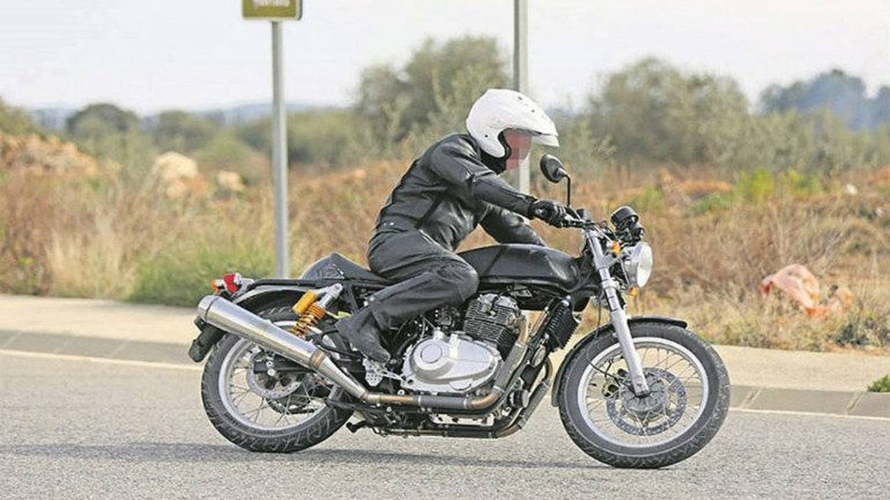 Royal Enfield's Rumored 750 Interceptor is on the Way