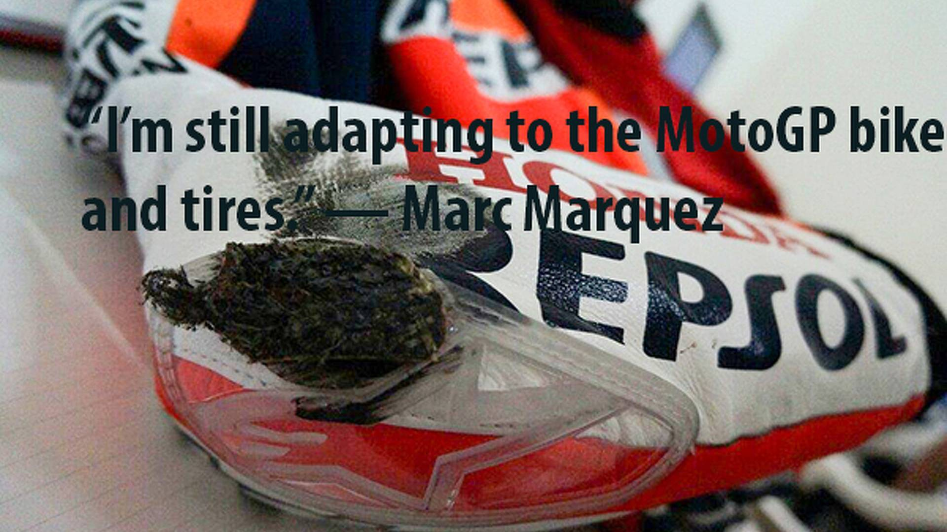 Marc Marquez On Being The 3rd Fastest Rider In Motogp Rideapart Com Photos