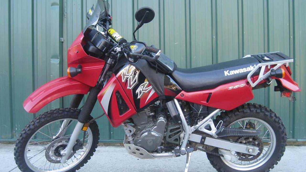 Why I bought a Kawasaki KLR650