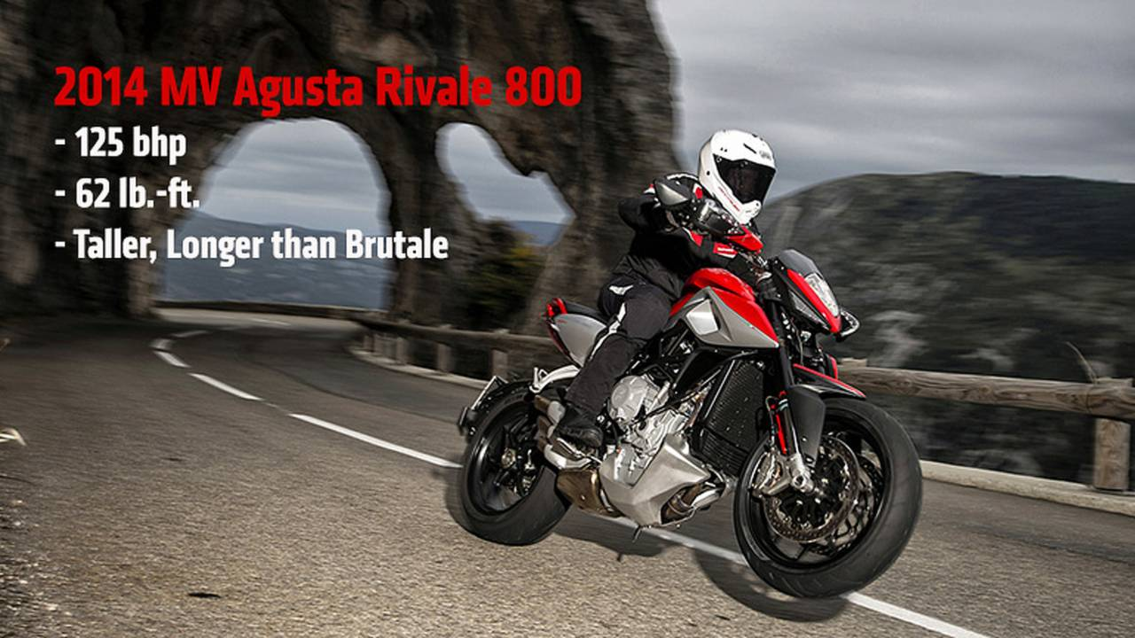 2014 MV Agusta Rivale 800 — First Photos and Specs