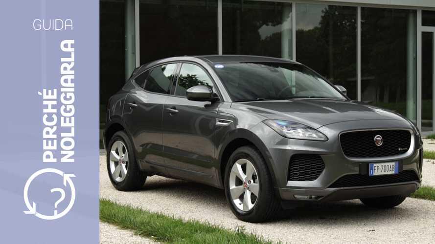 Jaguar E-Pace, perché noleggiarla... invece di comprarla
