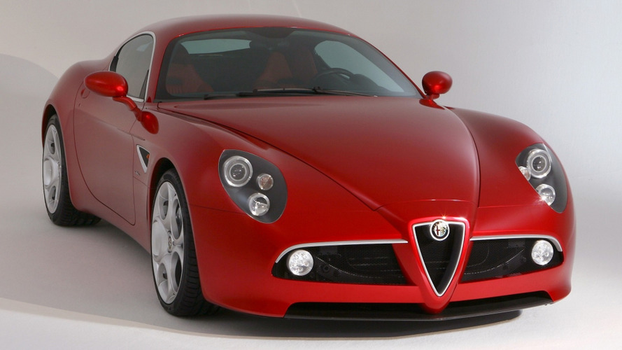 Alfa Romeo 8C illustration