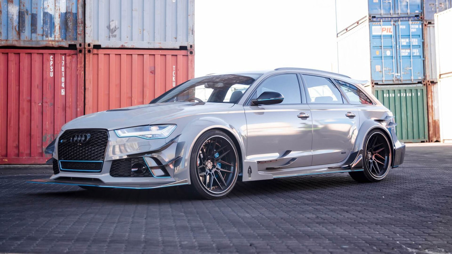 Audi RS6 Avant With Carbon Fiber Body Is Anything But Restrained