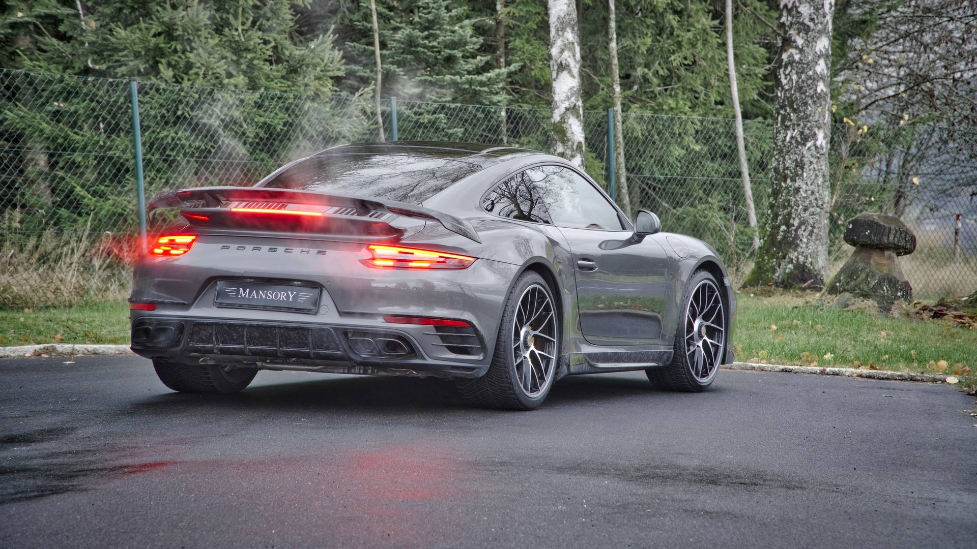 porsche 911 turbo smansory is surprisingly restrained