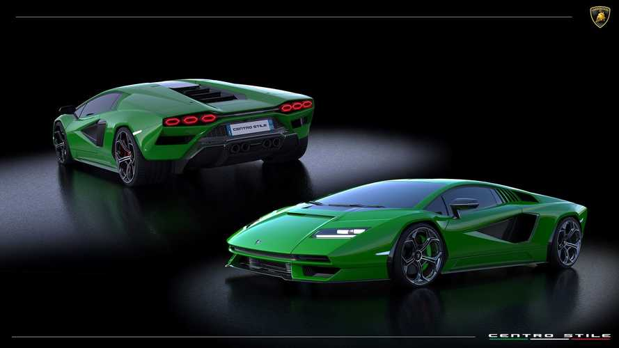 Lamborghini Countach (2021): Die Lackierungen in der Übersicht