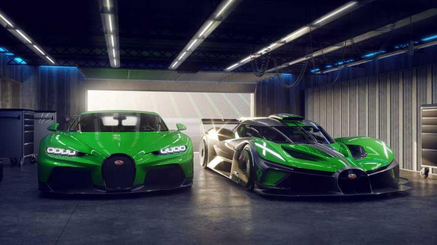 Bugatti Bolide, version de production