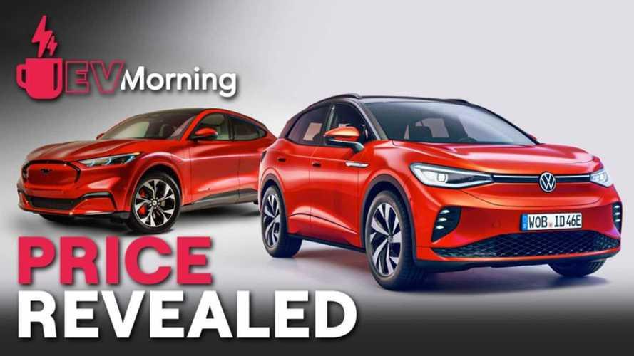 EV Morning News: Price Reveals For ID.4, Mach-E Plus More
