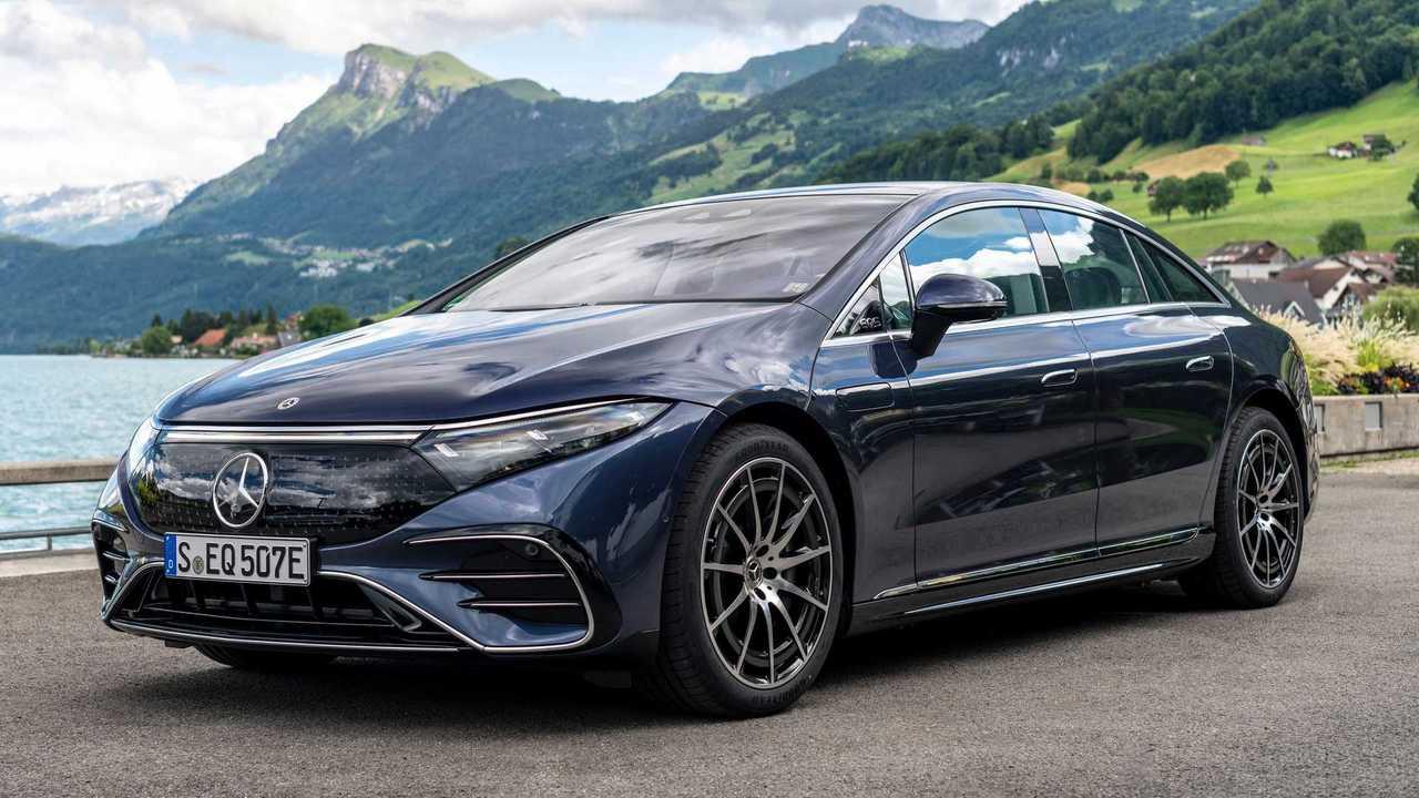 Mercedes stellt den EQS vor