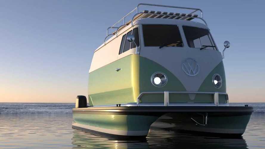 Что получится, если скрестить лодку с культовой машиной?