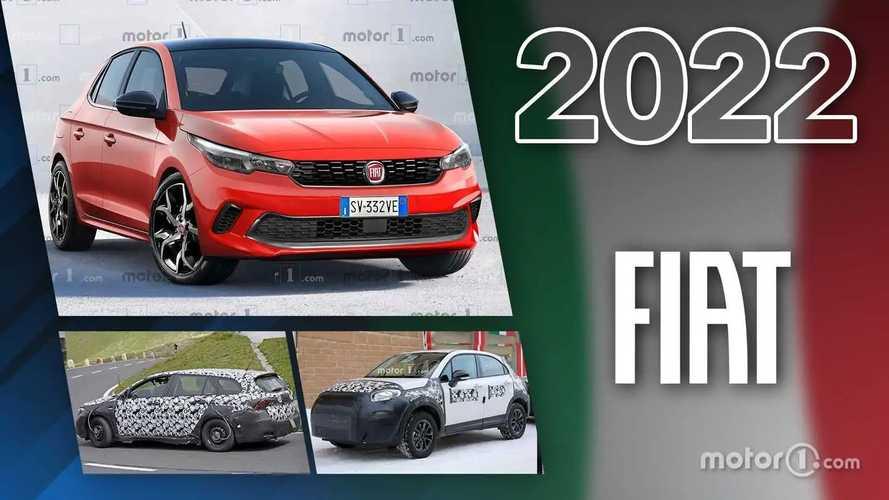 Fiat 2022, i nuovi modelli in arrivo