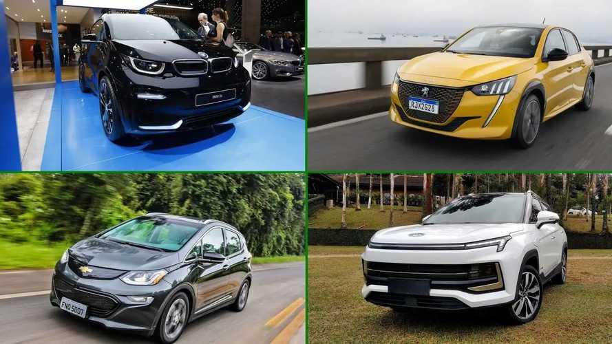 Veja os 10 carros elétricos mais eficientes em consumo no Brasil