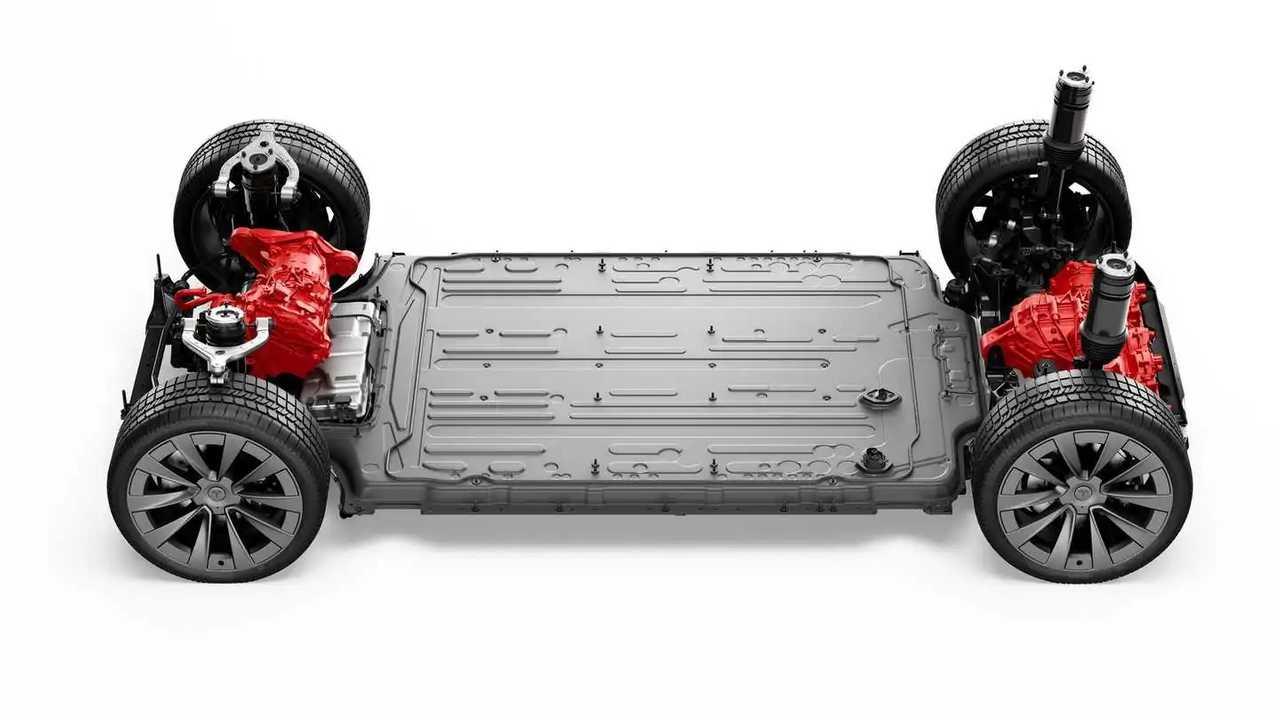 Tesla Model X Drivetrain