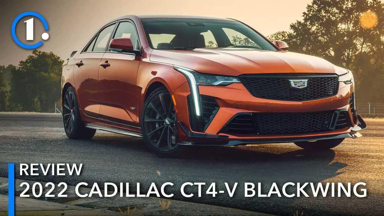 2022 Cadillac CT4-V Blackwing Review