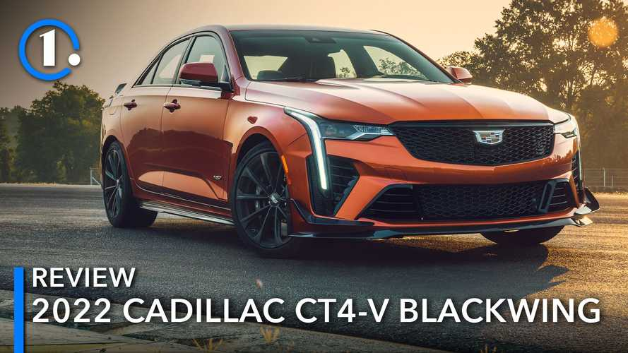 2022 Cadillac CT4-V Blackwing First Drive Review: Out With A Pop