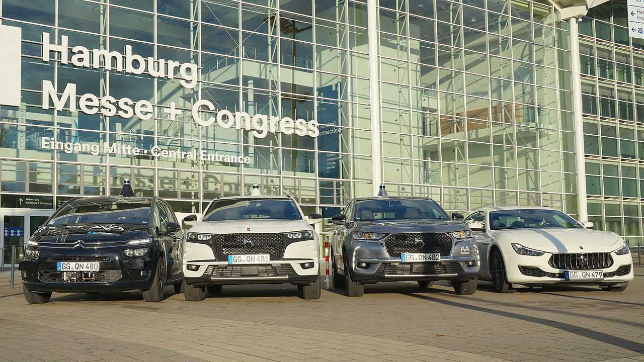 Prototipi Stellantis per la guida autonoma di Livello 3