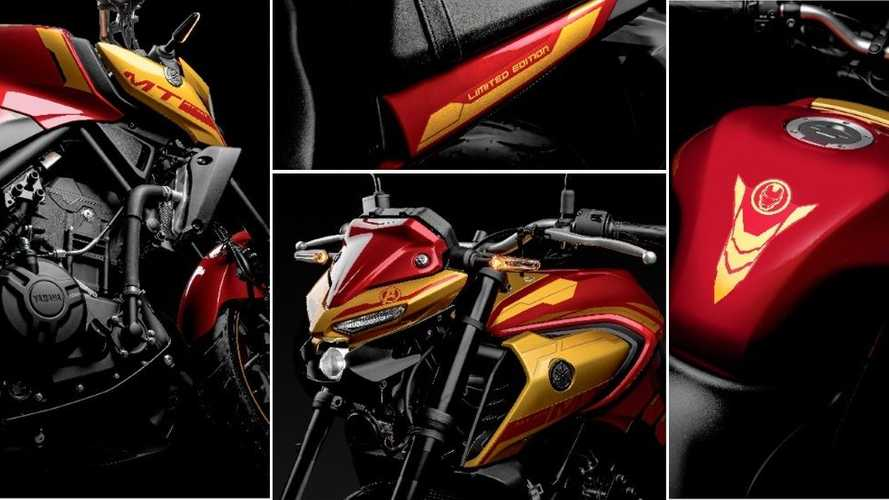 Yamaha MT-03 Homem de Ferro 2022