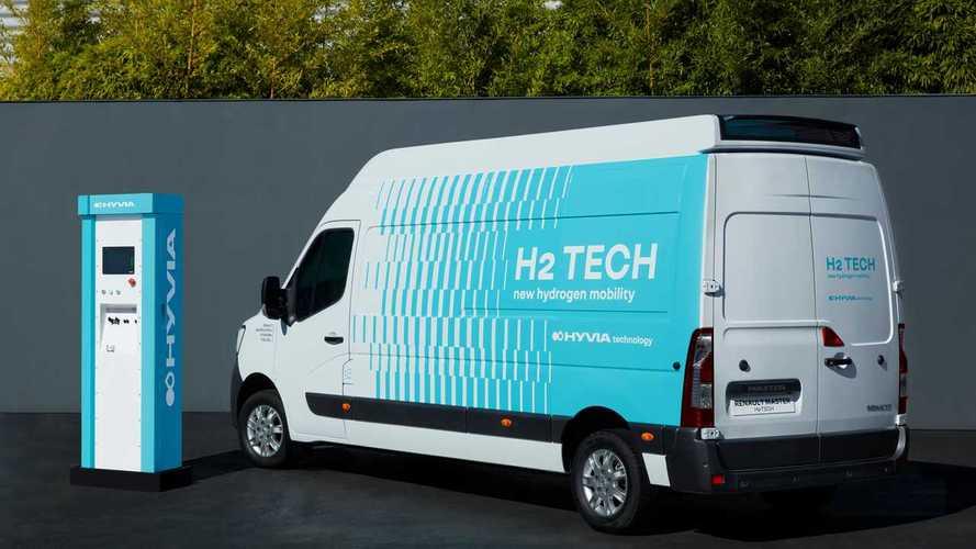 Renault (anche) a idrogeno: ecco furgone e stazione di ricarica