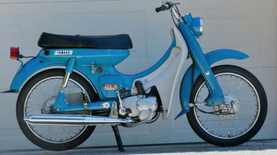 Keep Your Commute Cute With This Adorable 1967 Yamaha U5
