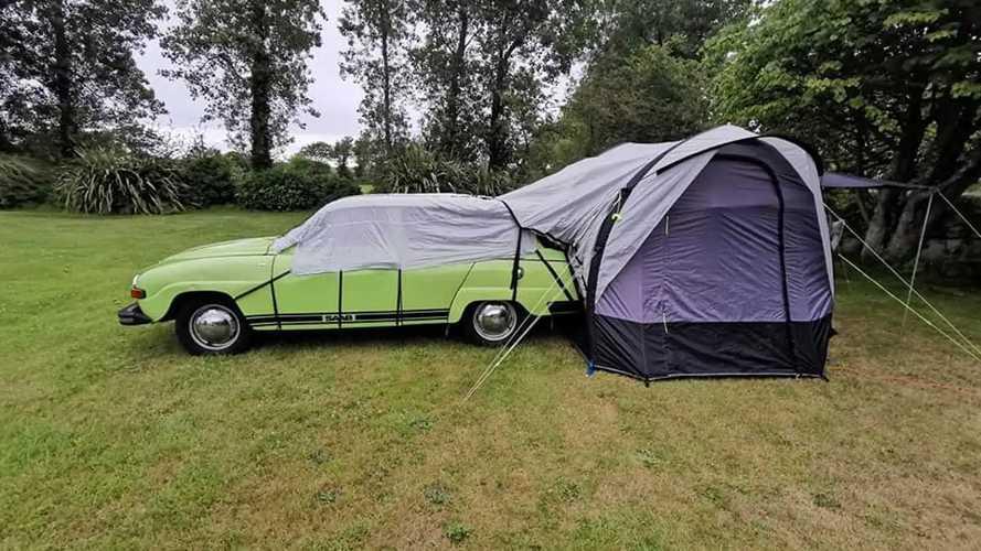 1975 Saab 95 V4 Micro Camper Is Mega Cool