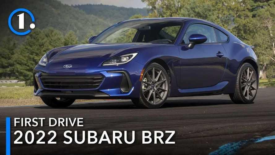 2022 Subaru BRZ First Drive Review: Refining The Formula