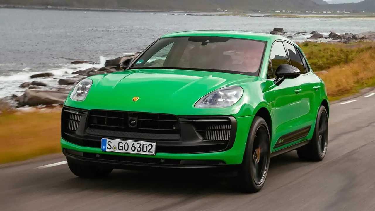 Der überarbeitete Porsche Macan GTS (2021) in Pythongrün im Test.