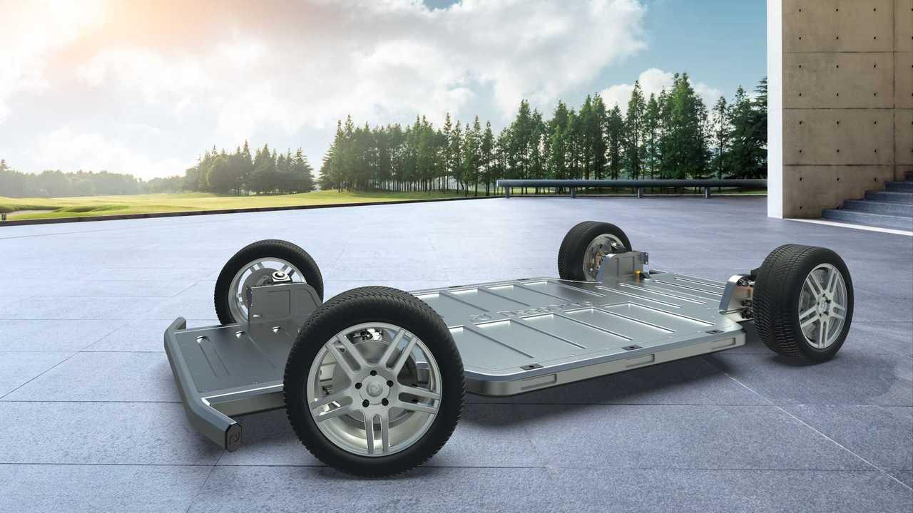 La piattaforma skateboard che DeepDrive presenterà al Salone di Monaco IAA Mobility