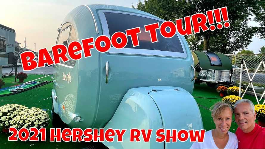 NuCamp Finally Shows Barefoot Mini Trailer For US