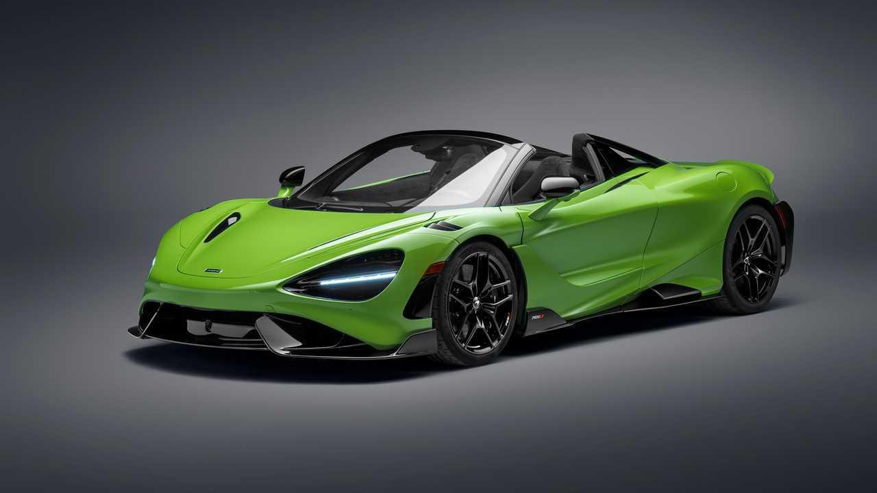 2021 McLaren 765LT pók
