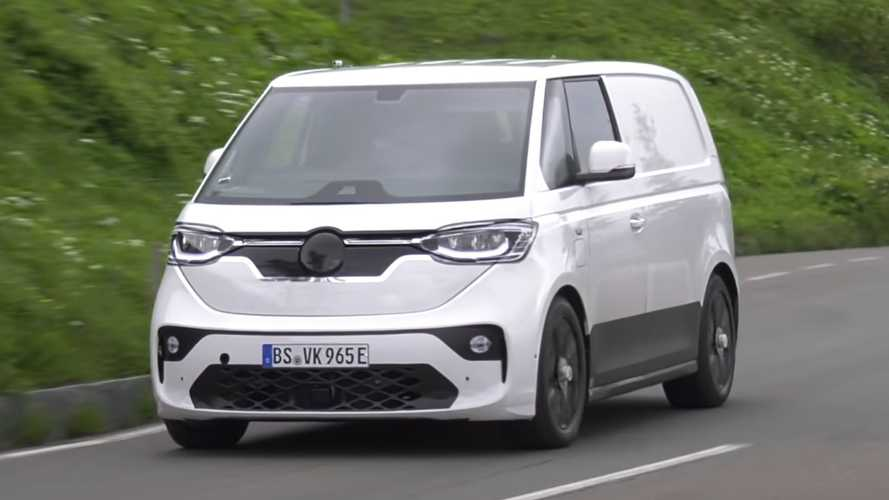 VW ID Buzz Spy Video Shows Modern Microbus Testing In The Alps