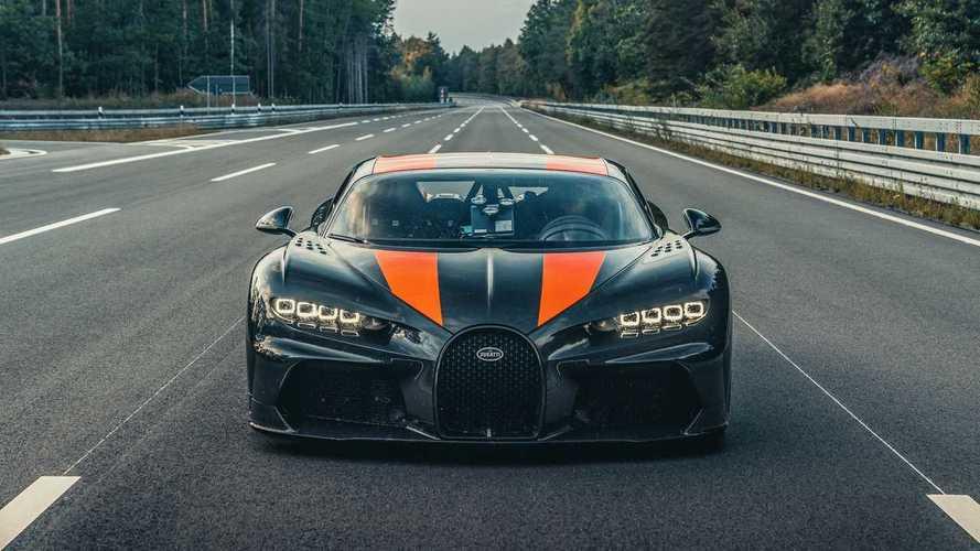 Bugatti показал первые серийные гиперкары Chiron Super Sport 300+
